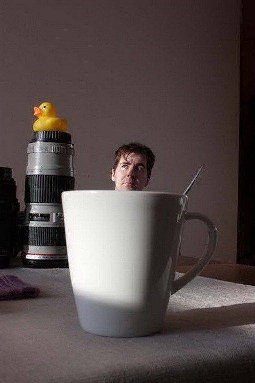 Интересные фотографии в домашних условиях