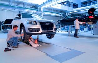 Ремонт автомобилей Audi